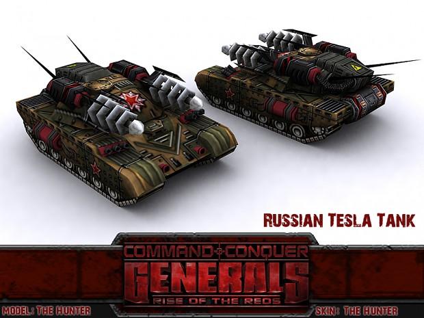 Russian Tesla Tank