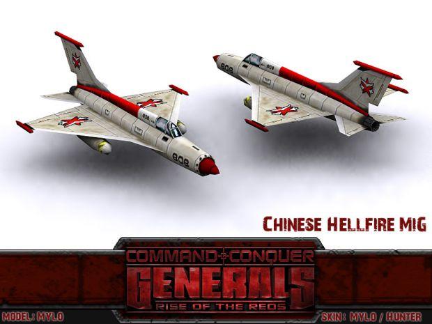 Chinese Hellfire MiG