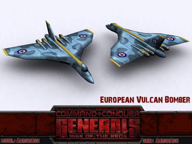 Vulcan Strategic Long Range Bomber