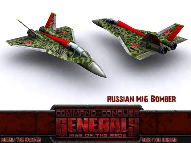 Russian Mig Bomber