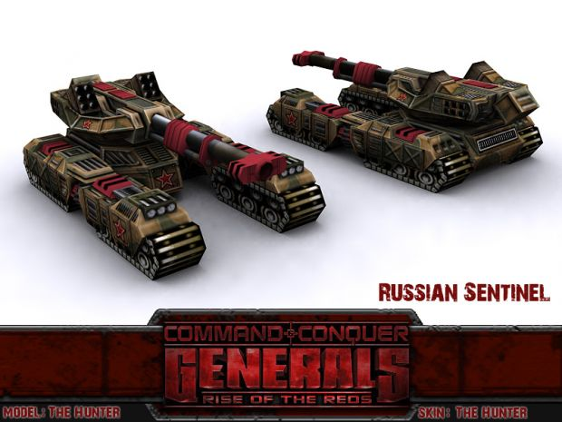 Russian HT28-03 Sentinel with Warden Missile Pods