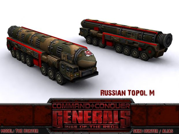 Russian Topol-M1 ICBM Launcher