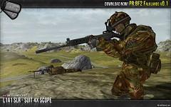 L1A1 SLR-SUIT 4x Scope