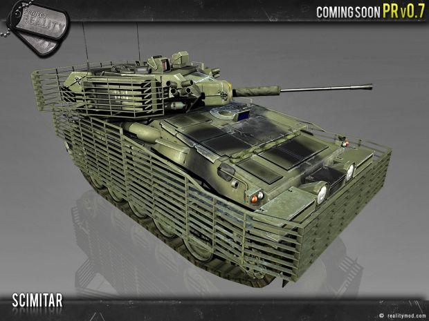 FV107 Scimitar CVR(T) - Render