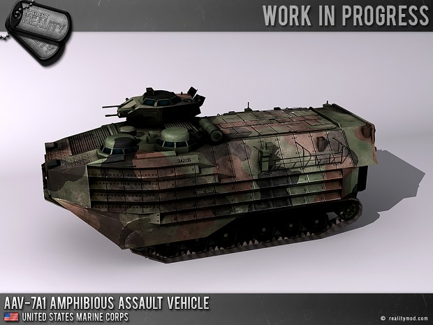 AAV-7A1 Amphibious Assault Vehicle