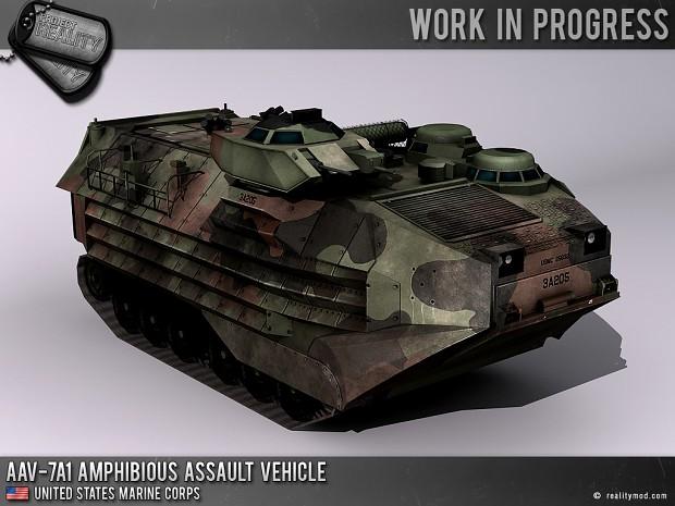 AAV-7A1 Amphibious Assault Vehicle