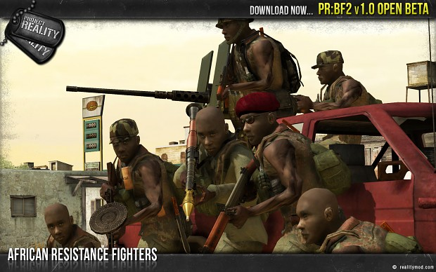 African Resistance Fighters