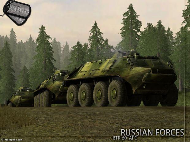 Russian Forces BTR-60 APC