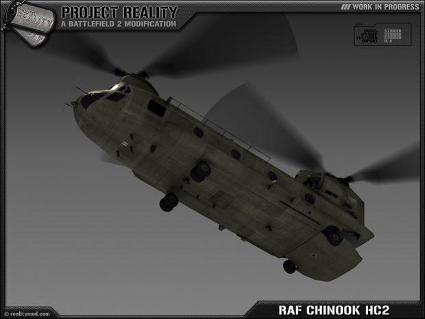 RAF Chinook HC2