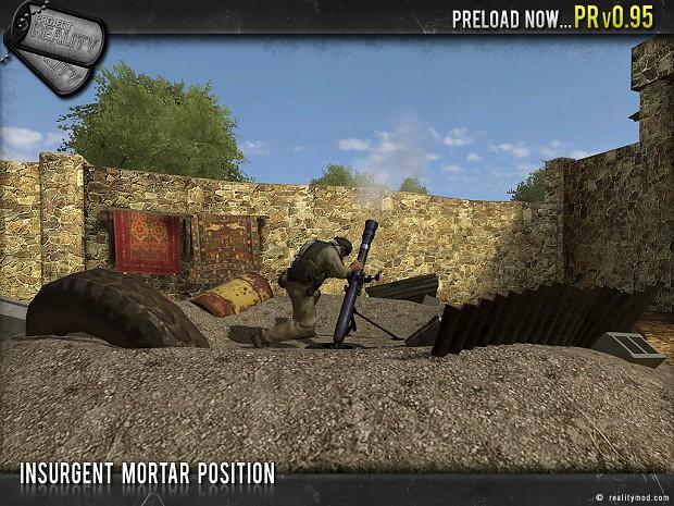 Insurgent Mortar Position