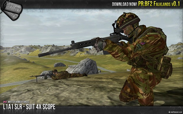 L1A1 SLR-SUIT 4x Scope
