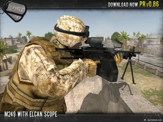 M249 ECLAN Scope