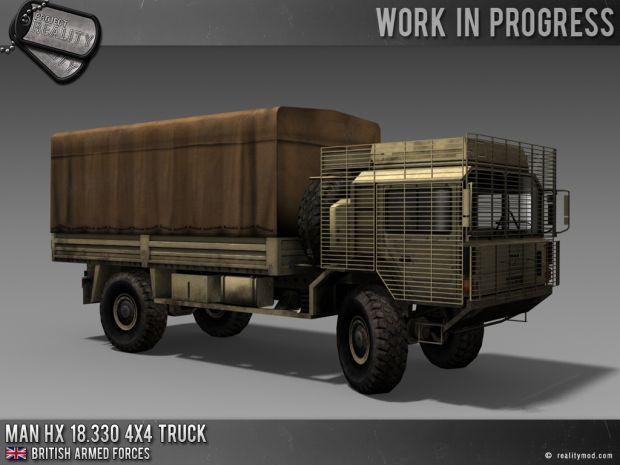 MAN HX 18.330 4x4 Truck - Desert
