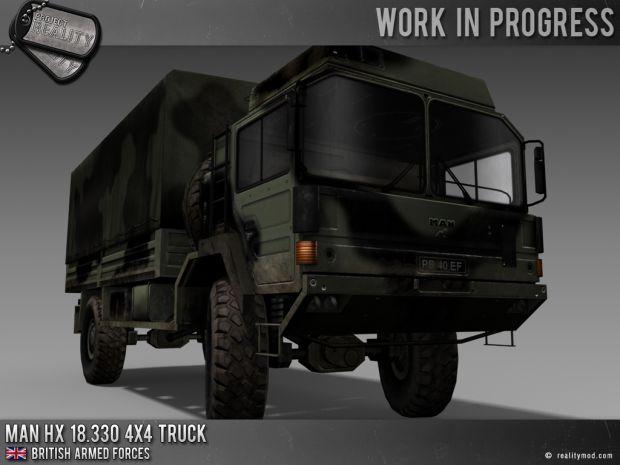 MAN HX 18.330 4x4 Truck - Woodland