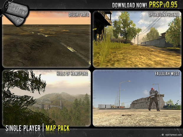 PRSP v0.95 Map Pack