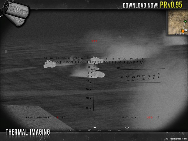 Thermal Imaging Image Project Reality Battlefield 2 Mod