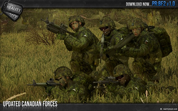 Updated Canadian Forces