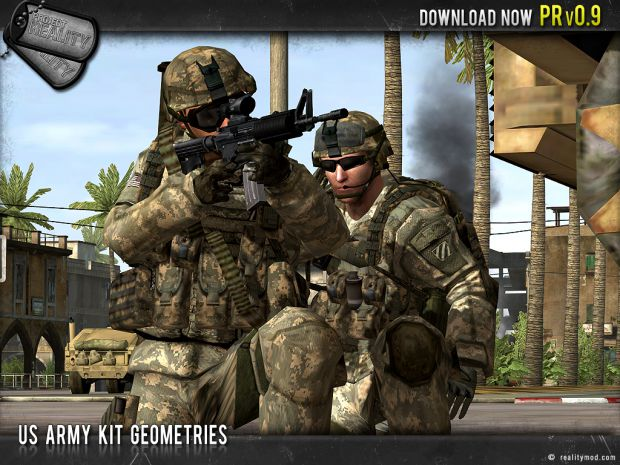 US Army Kit Geometries