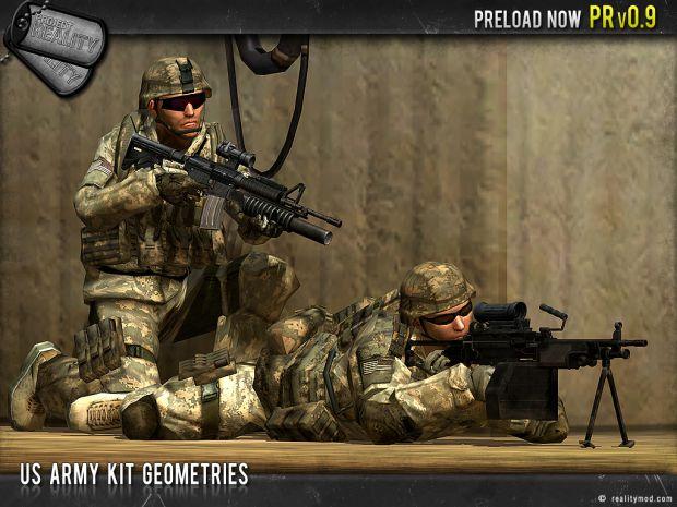 US Army Kit Geometries #4