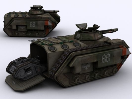 Chimera apc and cyclops remote tank image battlefield 40k bf1942