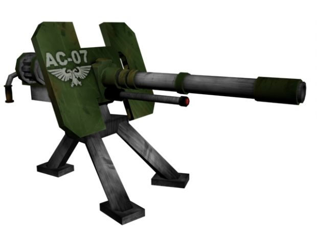 Imperial guard autocannon image battlefield 40k bf1942 mod for