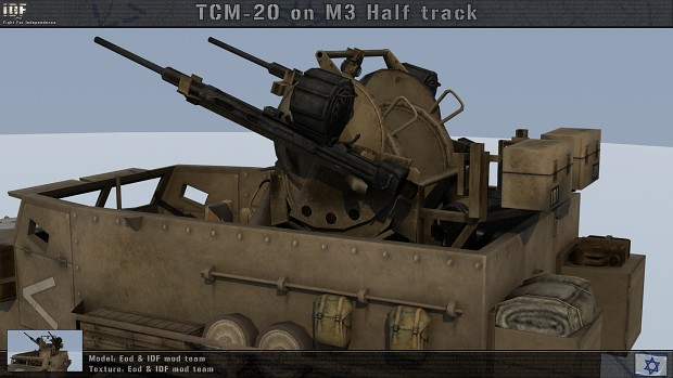 Tcm 20 20mm Aaa Image Idf Fight For Independence Mod