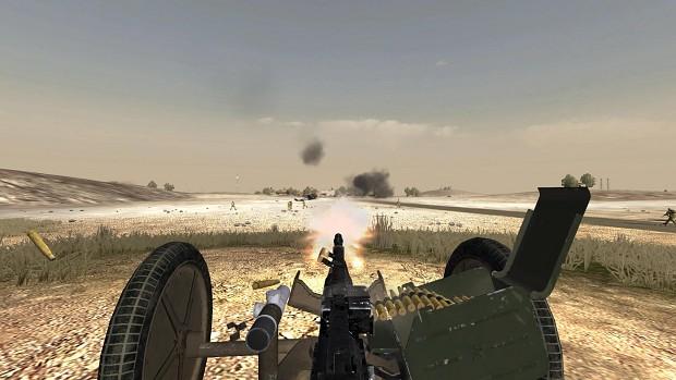 KPV Heavy Machine gun screenshots
