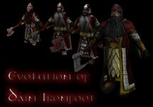 Evolution of Dain Ironfoot