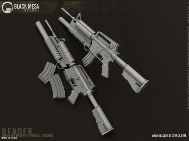 M4 Render - Unskinned