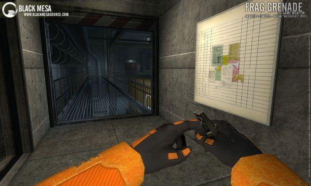 Fragmentation Grenade Ingame Shot Image Black Mesa Mod