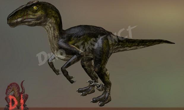 Utahraptor Render