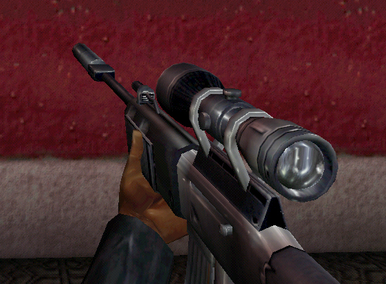 Sniper Rifle In-Game