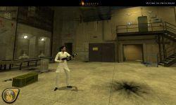 Female Scientist in-game