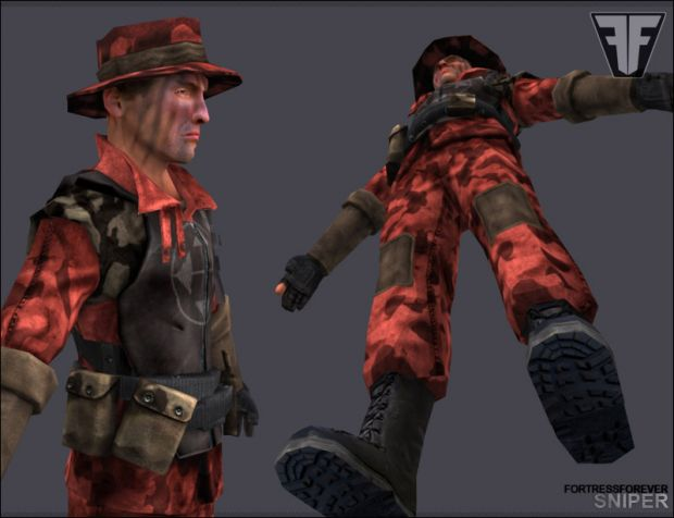 Sniper Render: Red Team