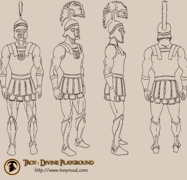 Trojan soldier concept
