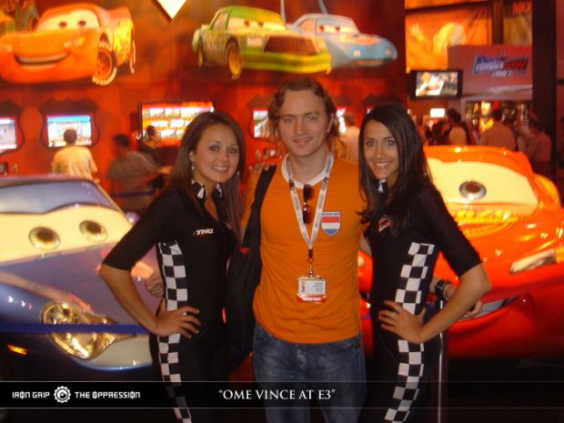 Ome Vince at E3 2006 !