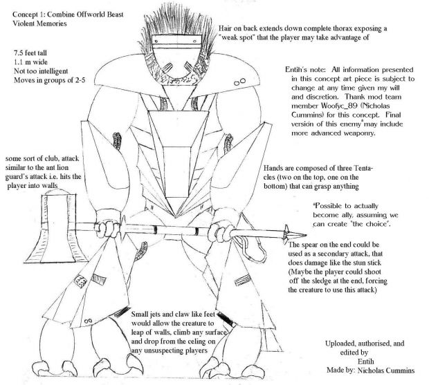 Offworld Beast (Combine)