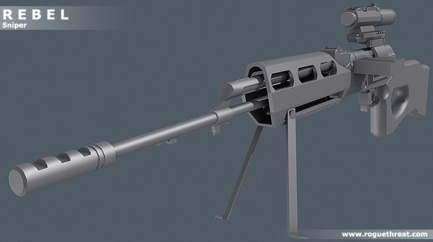Rebel Sniper Rifle