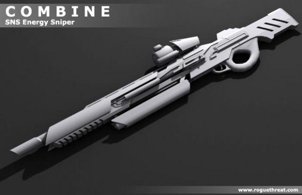 Combine- SNS Energy Sniper Rifle