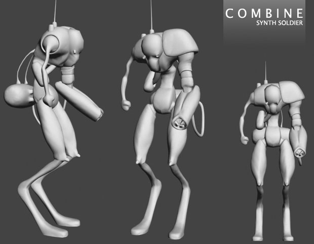 Combine- Synth Soldier