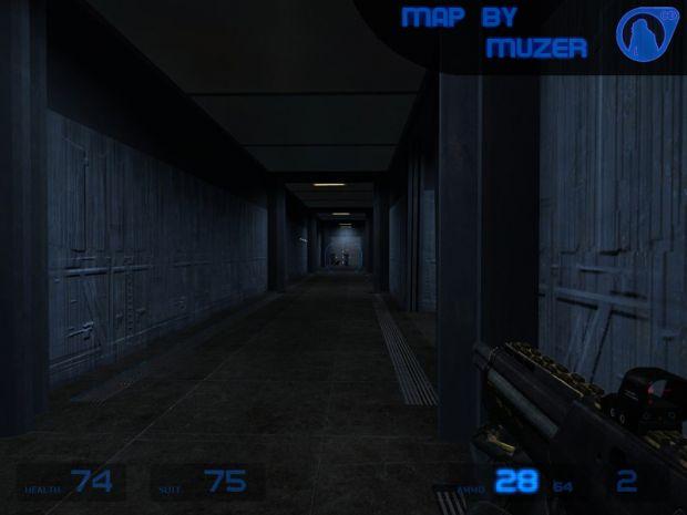 Corridor with Glas