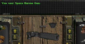 Space Marine Gun