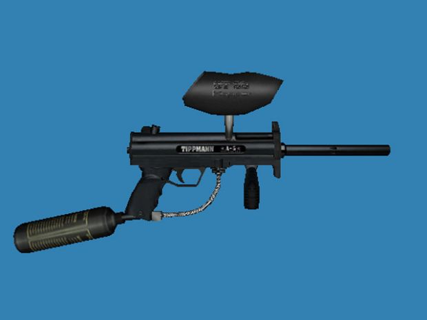Tippman A-5 Weapon Model
