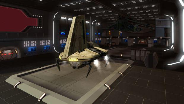 MBII Republic Assault Cruiser