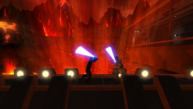 Duel On Mustafar Image Movie Battles Ii Mod For Star