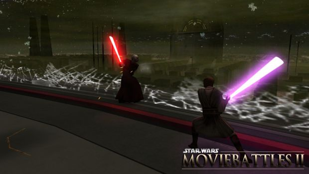 Duel in Palpatines Office