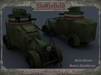Italian Lancia IZ Armoured Car