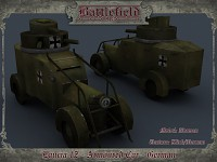 German Lancia IZ Armoured Car (captured)