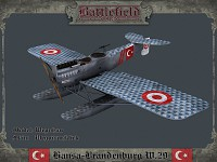 Hansa-Brandenburg W.29 (Turkish)