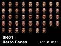 SK01 Retro Faces
